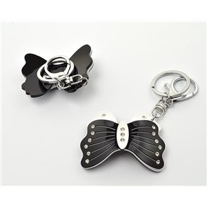 Keychain Fashion Strass New Collection Black & White 71930
