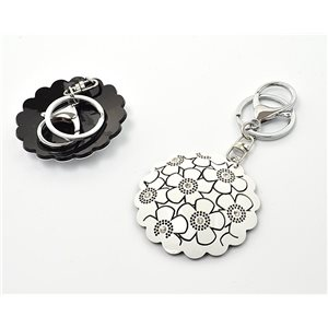 Keychain Fashion Strass New Collection Black & White 71935