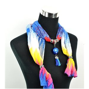 Foulard Bijoux polyester Collection 2017 70957