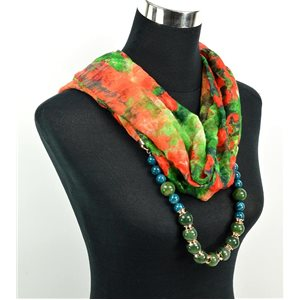 Foulard Bijoux polyester Collection 71028