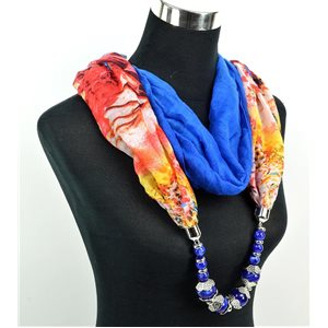 Foulard Bijoux polyester Collection 2017 71035