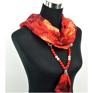 Foulard Bijoux polyester Collection 2017 71039