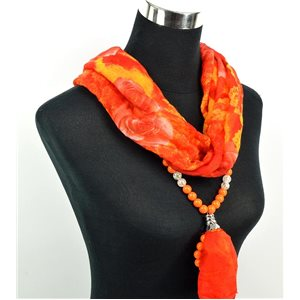 Foulard Bijoux polyester Collection 2017 71041