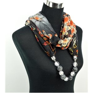 Foulard Bijoux polyester Collection 2017 71043