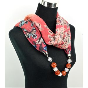 Foulard Bijoux polyester Collection 2017 71044