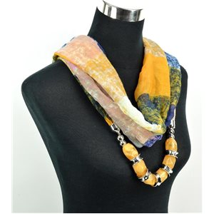 Foulard Bijoux polyester Collection 2017 71050