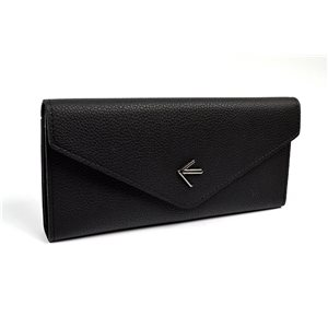 Women's Wallet soft grained look L19cm H9cm New Collection Classic 72473