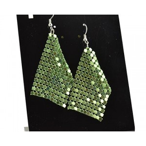 1p Ears Mesh Earrings Disco 62891