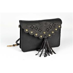 Women's Suede Pouch H13-L19cm New Collection Classic 73359