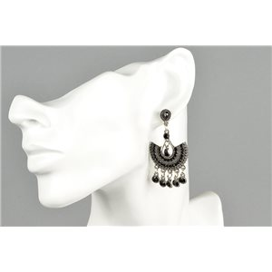 1p Boucles Oreilles à clou ATHENA New Collection Ethnique 73449