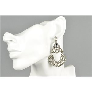 1p Boucles Oreilles à clou ATHENA New Collection Ethnique 73451