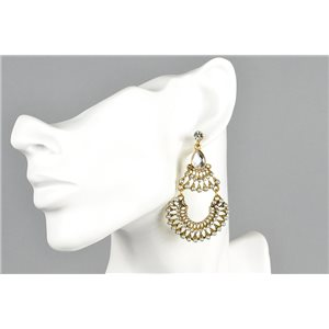 1p Boucles Oreilles à clou ATHENA New Collection Ethnique 73452