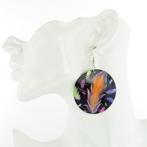 1p Earrings Mother of Pearl Earrings Fashion 5cm 65283