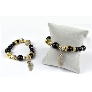 Bracelet CYBELE New Collection Bead Charms et Bijoux sur fil élastic 73952