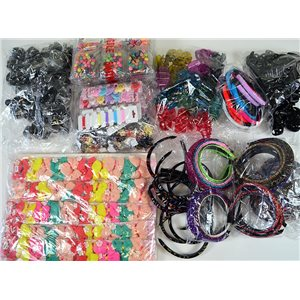 ready to unpack +200 special hair items market or destocking 75239