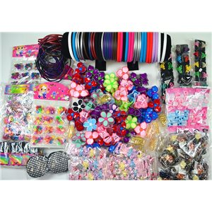 ready to unpack +300 special hair items market or destocking 75248