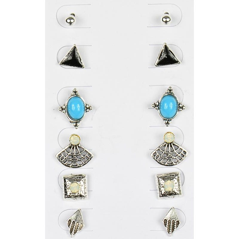 plated variants products color of crystals with stud multi earring earrings gold hot sell aaa colored zircon