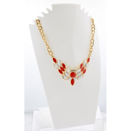 Email Creation necklace ATHENA Princess and Strass 62141