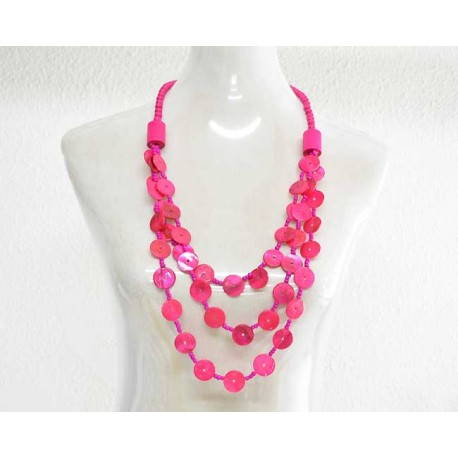 Necklace Wood Beads Necklace Jewelry and Pearl 57792