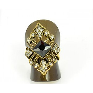 Rhinestones Adjustable Ring New Style Full Rhinestone 65576