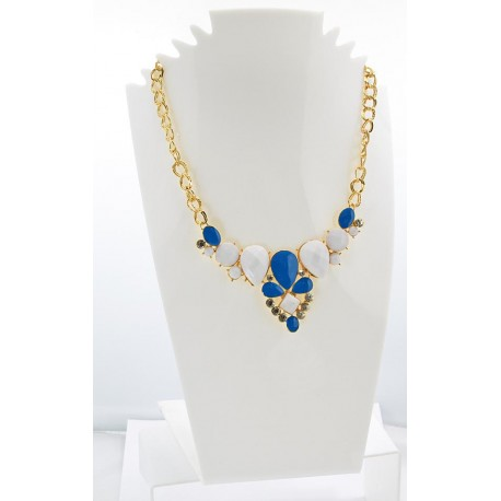 Email Creation necklace ATHENA Princess and Strass 62146
