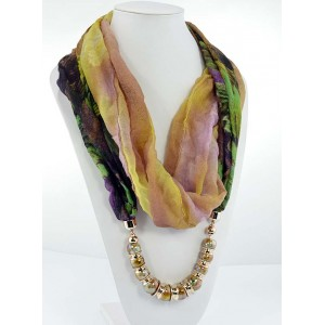 Scarf Necklace Fashion Jewelry Collection 2015 65245