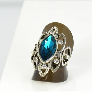 Bague Strass réglable New Style Full Strass 66020