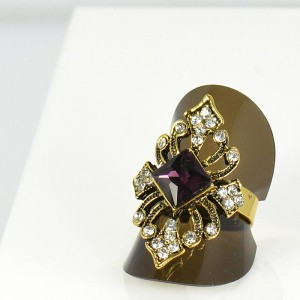 Bague Strass réglable New Style Full Strass 66032