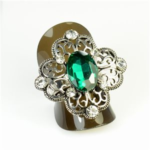 Bague Strass réglable New Style Full Strass 65958