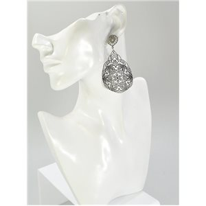 1p Boucles Oreilles Collection mode Filigrane 67048