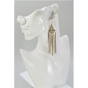 1p Boucles Oreilles Pendante Collection Mode Chic 67461