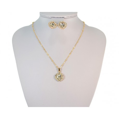 Finery Iris Strass on 58804 fancy chain