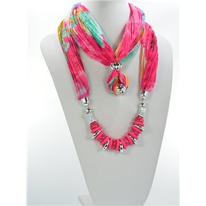 Collier Foulard Bijoux Polyester Collection 2016 68442