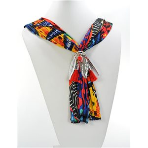 Scarf Necklace Jewelry Polyester Spring Summer Collection 2016 68425