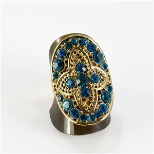 Bague Strass réglable Full Strass GOLD Vintage Collection 67621
