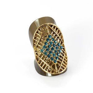 Bague Strass réglable Full Strass GOLD Vintage Collection 67939
