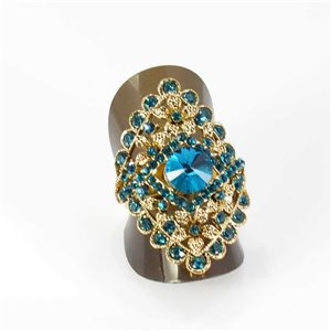 Bague Strass réglable Full Strass GOLD Vintage Collection 67957