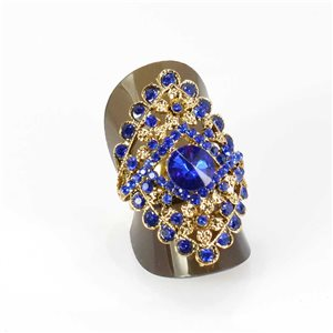 Bague Strass réglable Full Strass GOLD Vintage Collection 67961