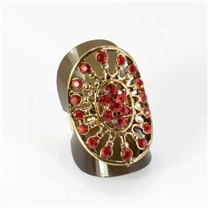 Bague Strass réglable Full Strass GOLD Vintage Collection 67991