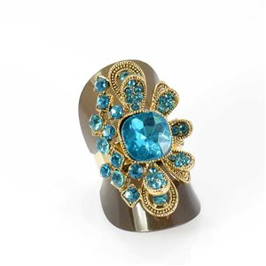 Bague Strass réglable Full Strass GOLD Vintage Collection 68013