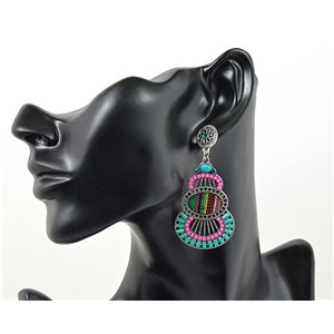 1p Earrings ATHENA TOP Ethnic Collection Summer 69418