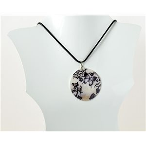 Necklace pendant Natural Pearl Collection Fashion Design 69512