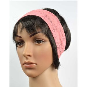 polyester hair band fashion embroidery width 7cm 70727