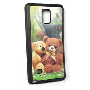 Coque silicone anti-chocs pour Samsung Galaxy Note4 Coque 3D Hologramme 65226