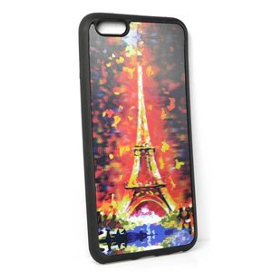 Coque silicone anti-chocs pour iPhone 6+ Coque 3D Hologramme 65172