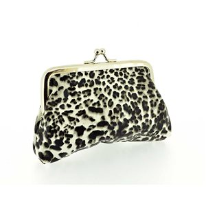 Porte monnaie PVC L13-H9cm Collection Panthere Leopard 70853