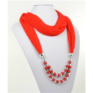 Collier Foulard Bijoux Polyester New Collection 2017 70988