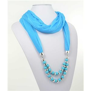 Collier Foulard Bijoux Polyester New Collection 2017 70989