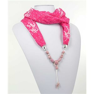 Collier Foulard Bijoux Polyester New Collection 70980