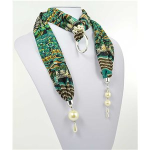 Collier Foulard Bijoux Polyester New Collection 70998